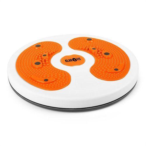 Klarfit my Twist Body Twister obrotowy krąg masaż stóp pomarańczowy
