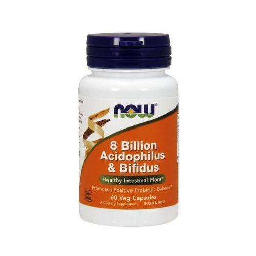Now Foods 8 Bilion Acidophilus & Bifidus 60 kaps