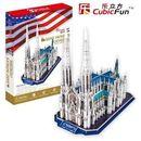 PUZZLE 3D Katedra Św. Patryka
