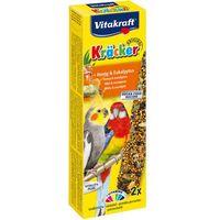 VITAKRAFT Kracker Australian - kolby dla dużych papug miodowe 2szt.