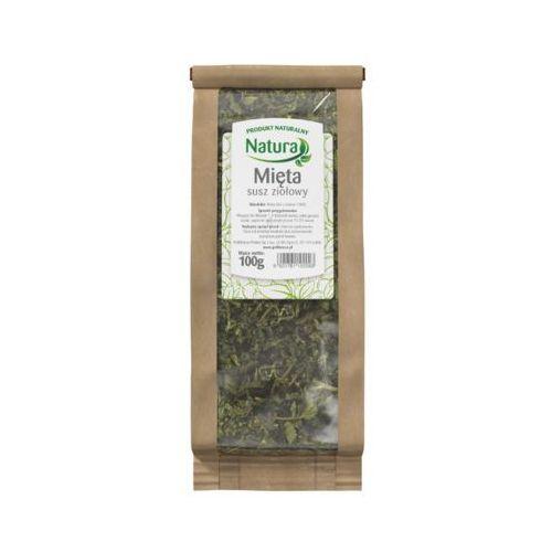 Natura 100g mięta susz ziołowy 100% herbata