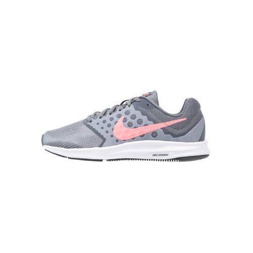 Nike Performance DOWNSHIFTER 7 Obuwie do biegania treningowe anthrazit/coral, 852466