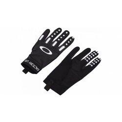Rękawice rowerowe factory lite 2.0 blackout fos900358-02e marki Oakley