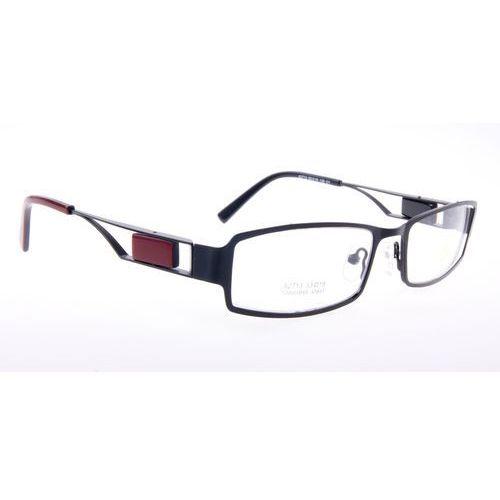 Oprawki okularowe Ricco A2713 c1 czarno-bordowe