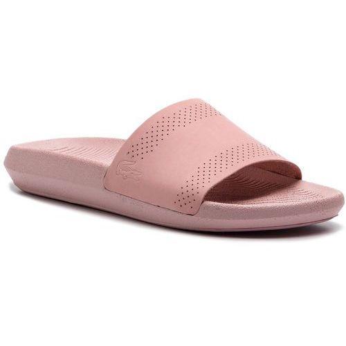 5fcbe4884 Lacoste Lacoste Klapki - croco slide 119 1 cfa 7-37cfa0003lp2 light pink/light  pink