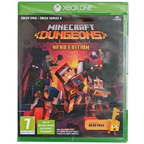 Minecraft xone marki Microsoft