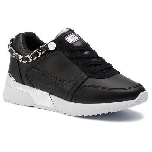 Sneakersy - mian 2 fl7mi2 ele12 black marki Guess