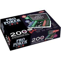 Tactic Pro poker 200 (w aluminiowej walizce) -