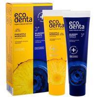 ECODENTA - Ananasowa pasta do zębów na dzień + Borówkowa pasta do zębów na noc, 2x100 ml