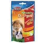 TRIXIE Dropsy witaminowe Karot 75g 6023 (4011905060231)