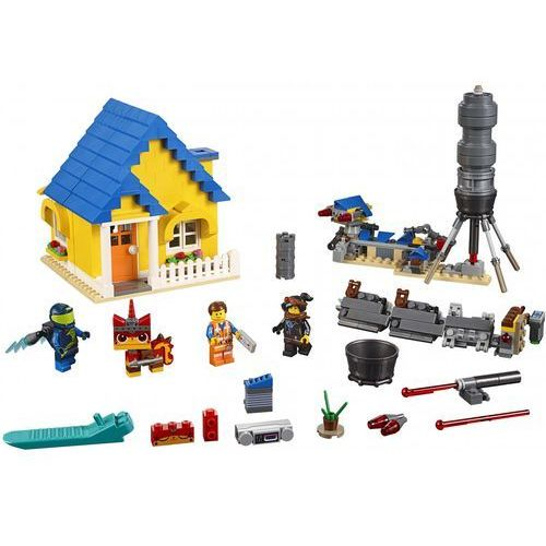 Lego THE MOVIE Dom emmeta/rakieta ratunkowa emmet's dream house/rescue rocket 2 70831