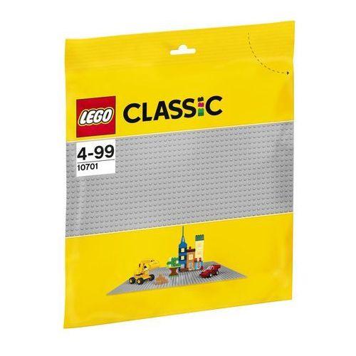 10701 SZARA PŁYTKA KONSTRUKCYJNA 48x48 Grey Baseplate KLOCKI LEGO CLASSIC