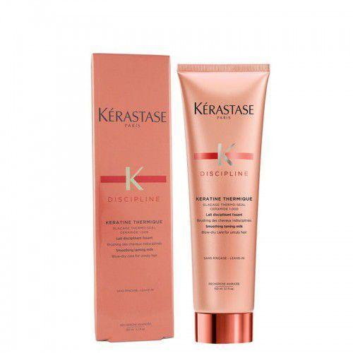 discipline wygładzające i odżywcze mleczko termoochronne do włosów nieposłusznych i puszących się keratine thermique (smoothing taming milk marki Kérastase