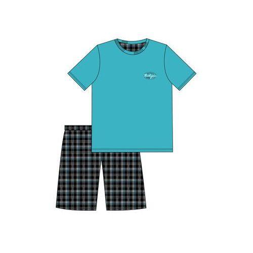 Piżama Cornette 326/66 Folia Michigan kr/r S-2XL XL, turkusowy. Cornette, 2XL, L, M, S, XL, 1 rozmiar