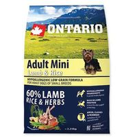 ONTARIO dog ADULT MINI lamb - 6,5kg, 1001914