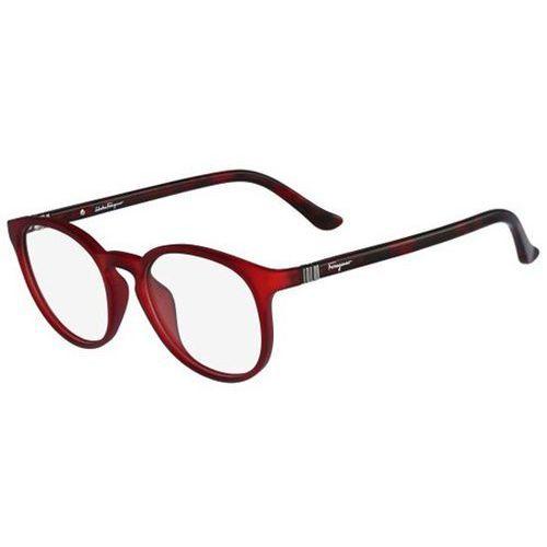 Okulary korekcyjne sf 2724 617 Salvatore ferragamo