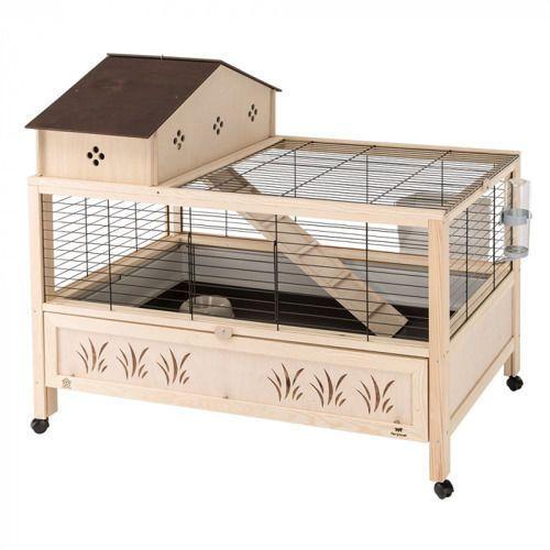 arena 100 plus klatka dla świnki, królika z wyposażeniem marki Ferplast