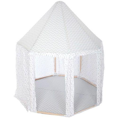 Namiot dla dzieci w kolorze szarym, namiot dziecięcy, namiot dla dzieci do pokoju, namiocik dla dzieci, namiot dla chłopca, wigwam marki Atmosphera créateur d'intérieur