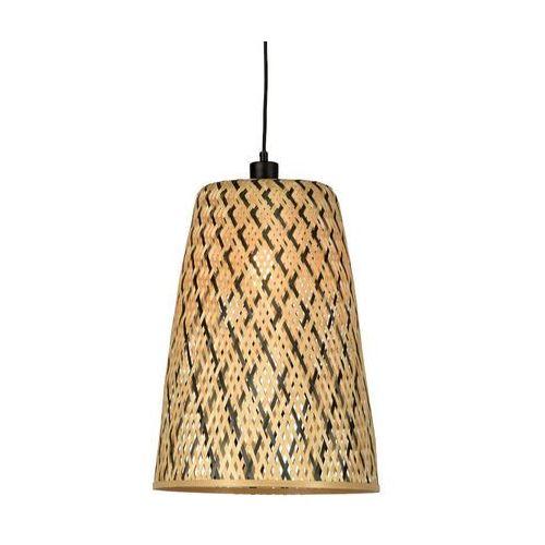 GOOD&MOJO Lampa wisząca Yucatan papierowa owalna 31,5x23cm, naturalny S YUCATANH22N, kolor naturalny;naturalny (GOOD&MOJO)