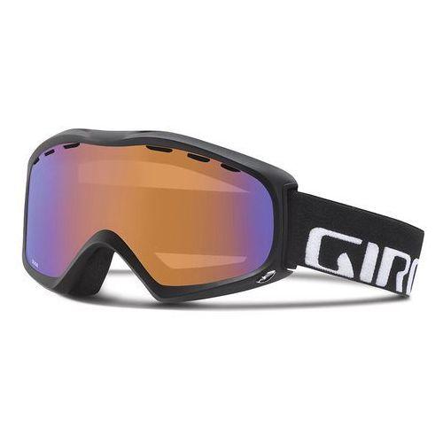 Giro gogle narciarskie signal black wordmark/persimmon boost