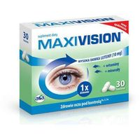 Kapsułki MAXIVISION x 30 kapsułek - data ważności 31-10-2019