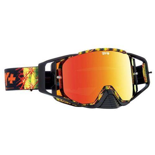 Gogle narciarskie ace mx cacti camo - smoke w/ red spectra (+clear anti fog w/ posts) Spy