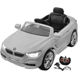Vidaxl bmw - samochód zabawka dla dzieci na baterie z pilotem biały