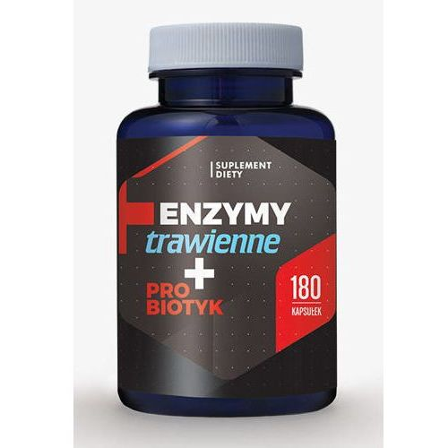 Enzymy trawienne + Probiotyki x 180 kapsułek