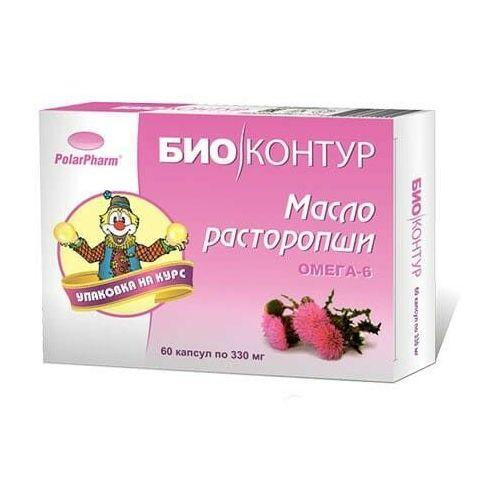 Olej z ostropestu w kapsułkach 60 kap. 330 mg (4607097011955)