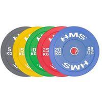 Obciążenie olimpijskie BUMPER HMS CBR 5/10/15/20/25 kg