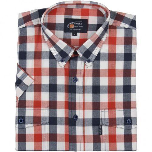 Koszula męska Laviino z bawełny Odzież Męska EE Koszule