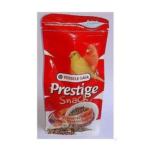 Versele-Laga Prestige Snack Canaries 125g przysmak z biszkoptami i owocami dla kanarków