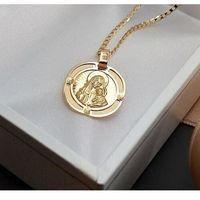 Węc-twój jubiler Medalik ze złota matka boża z dzieciątkiem - 46060
