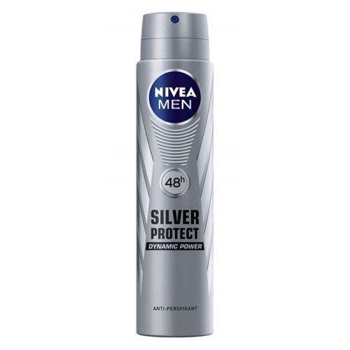 Nivea for men silver protect dynamic power, 250ml. dezodorant spray - nivea od 24,99zł darmowa dostawa kiosk ruchu