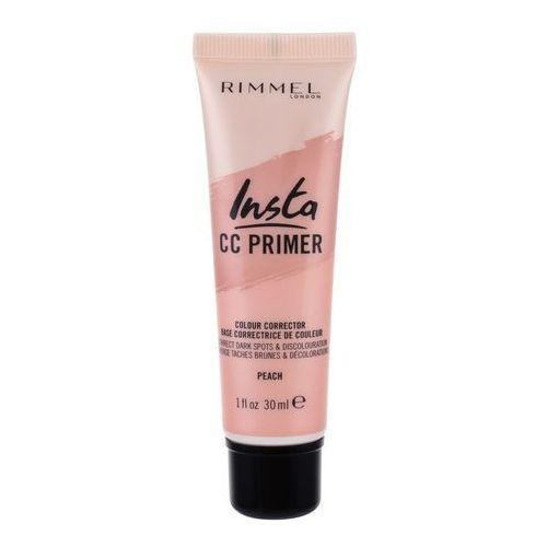 Insta cc primer baza pod makijaż 30 ml dla kobiet peach Rimmel london - Ekstra oferta