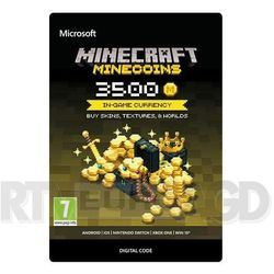 Minecraft - Minecoins 3500 monet Xbox One