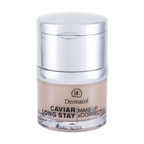 Dermacol Caviar Long Stay Make-Up & Corrector podkład 30 ml dla kobiet 1 Pale - Rewelacyjna przecena