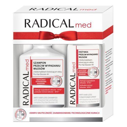 Zestaw (szampon 300ml, odżywka 200ml) marki Radical med