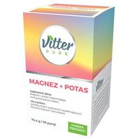VITTER PURE Magnez+Potas 74,4g/30 porcji