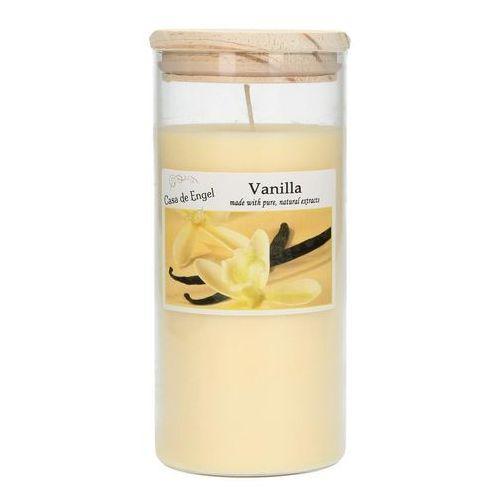 Dekoria Świeca zapachowa Vanilla 370g, 7,5x7,5x16cm