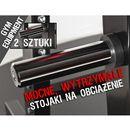 Chromowane stojaki PS5 na obciążenie fi 50 mm (2 sztuki) Kelton GYM EQUIPMENT, PS5