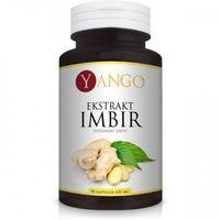 Imbir - ekstrakt - 90 kaps. YANGO (5905279845572)