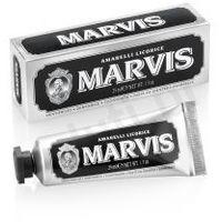 amarelli licorice - pasta do zębów o smaku lukrecji i mięty (25 ml) marki Marvis