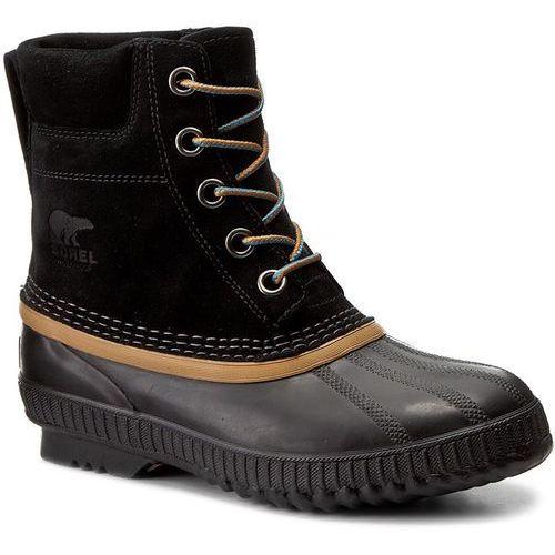 Śniegowce SOREL - Youth Cheyanne II Lace NY2673-010 Black, kolor czarny