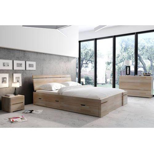 łóżko Bukowe Sparta Maxidr Skandica