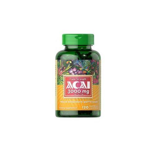 Puritan's pride Owoce acai - jagody 3000 mg / 120 kaps