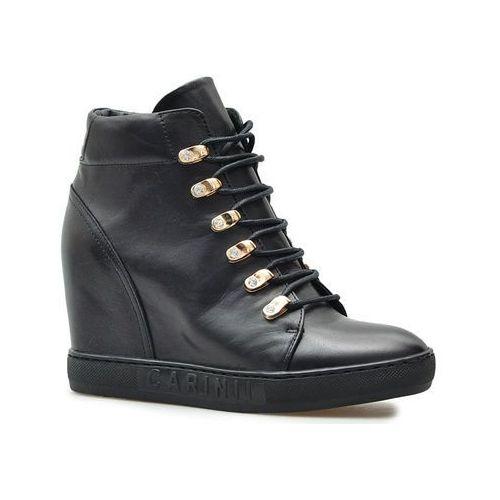 Carinii Sneakersy B5185-E50 Czarne lico, sneakersy