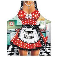Fartuch groszki Super Mama, mG1