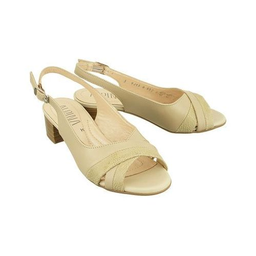 9j13-8 amelia sabia/beige, sandały damskie, Alpina