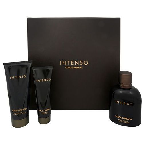 Intenso pour homme - woda perfumowana 125 ml + balsam po goleniu 100 ml + żel pod prysznic 50 ml Dolce & gabbana